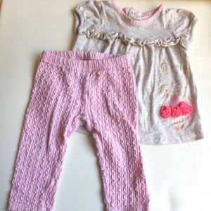Adorable baby girl outfit! (12m)